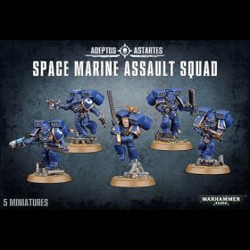 Warhammer: Space Marine Assault Squad