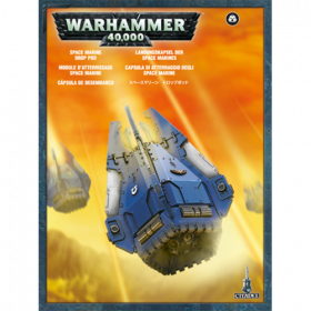 Warhammer: Space Marine Drop Pod