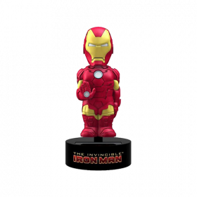Iron Man Solar Powered Body Knocker