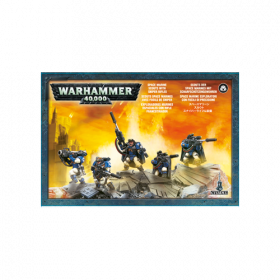 Warhammer: Space Marines Scouts with Sniper Rifles