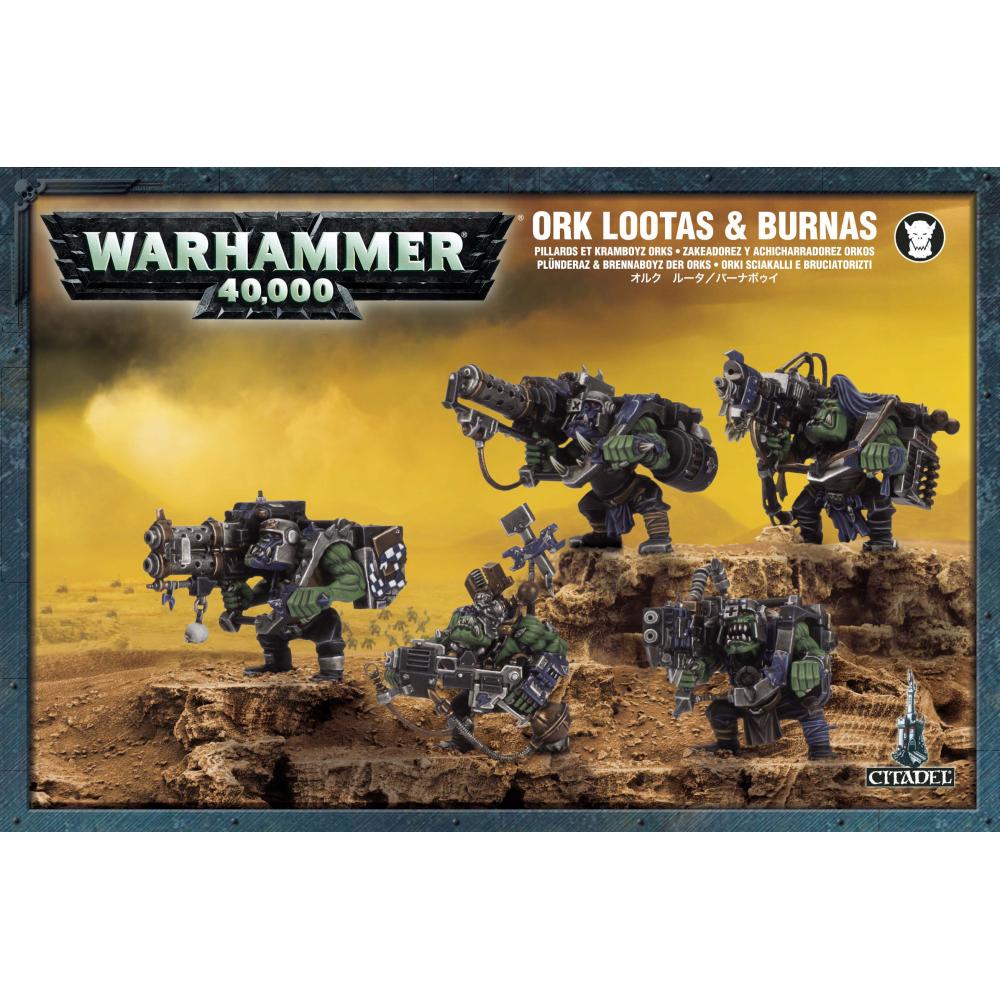 Warhammer: Ork Lootas/Burnas