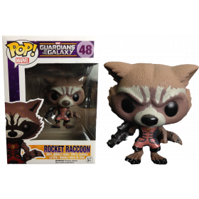 Funko Pop: Guardians of the Galaxy - Rocket Raccoon (ediţia Ravagers)