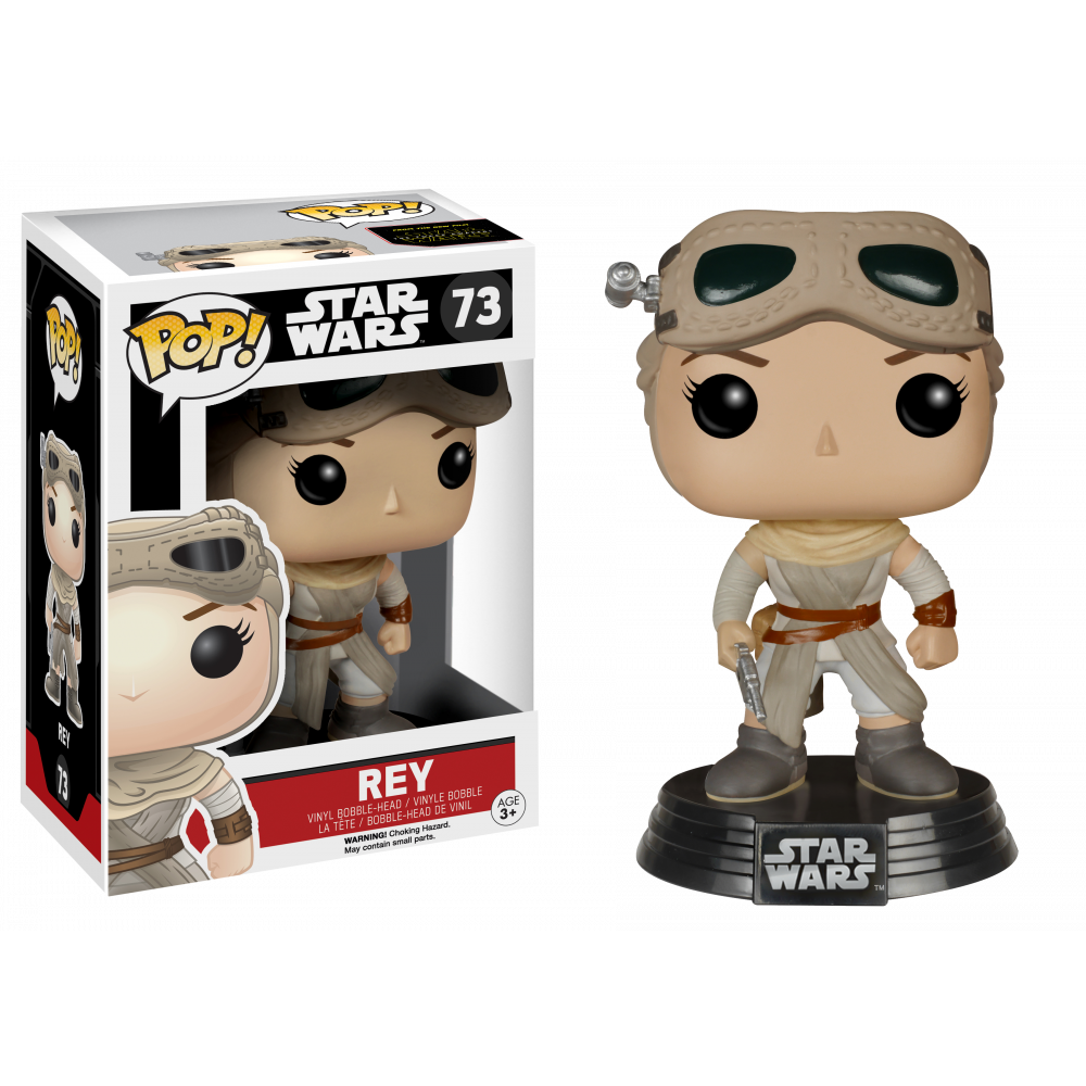 Funko Pop: Star Wars - Rey (Helmet&Goggles)