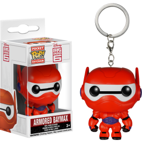 Funko Pop: Breloc - Big Hero 6 Armored Baymax
