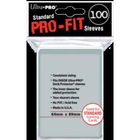 Ultra PRO Sleeves: Pro-Fit Standard (100)