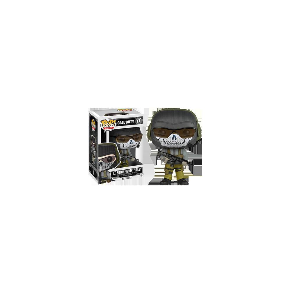 "Funko Pop: Call of Duty - Lieutenant Simon Ghost"" Riley"""