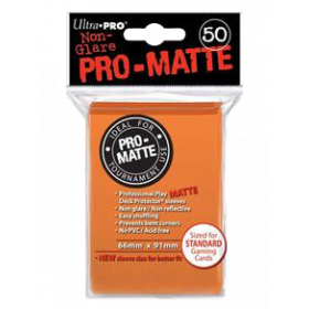 Ultra PRO Sleeves: Pro-Matte Standard (50)