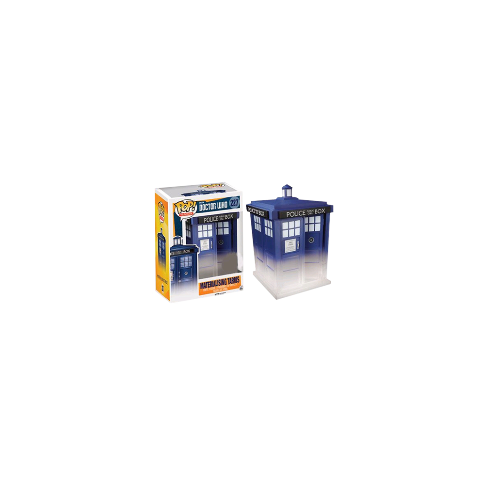 Funko Pop: Doctor Who - Materialising Tardis (Super-sized)