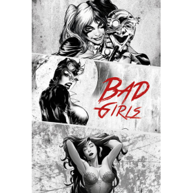 Poster Badgirls Black And White
