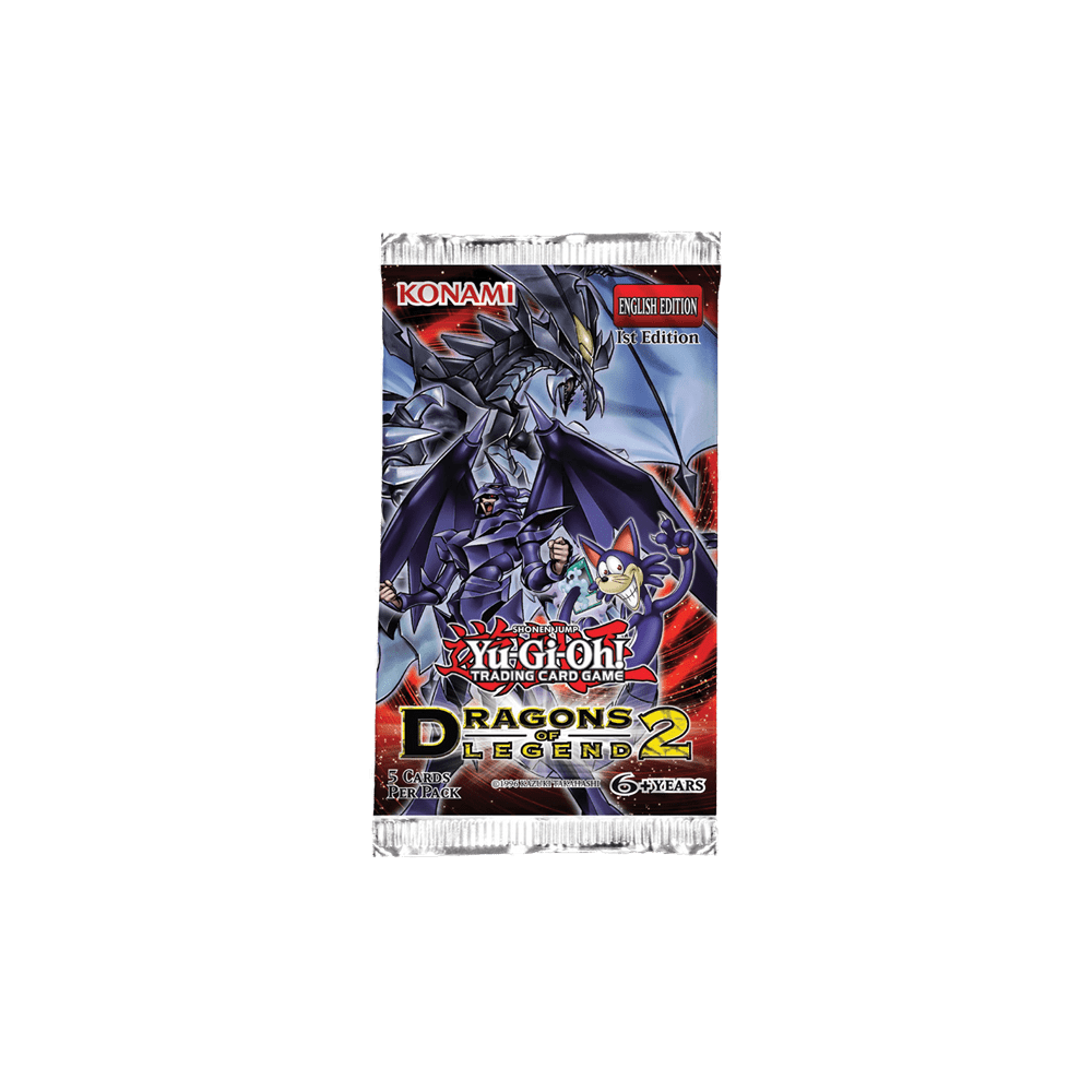 Yu-Gi-Oh!: Dragons of Legend 2 - Booster Pack