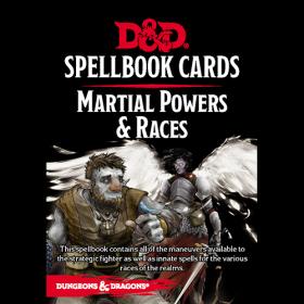 D&D: Martial Powers & Races Spell Deck