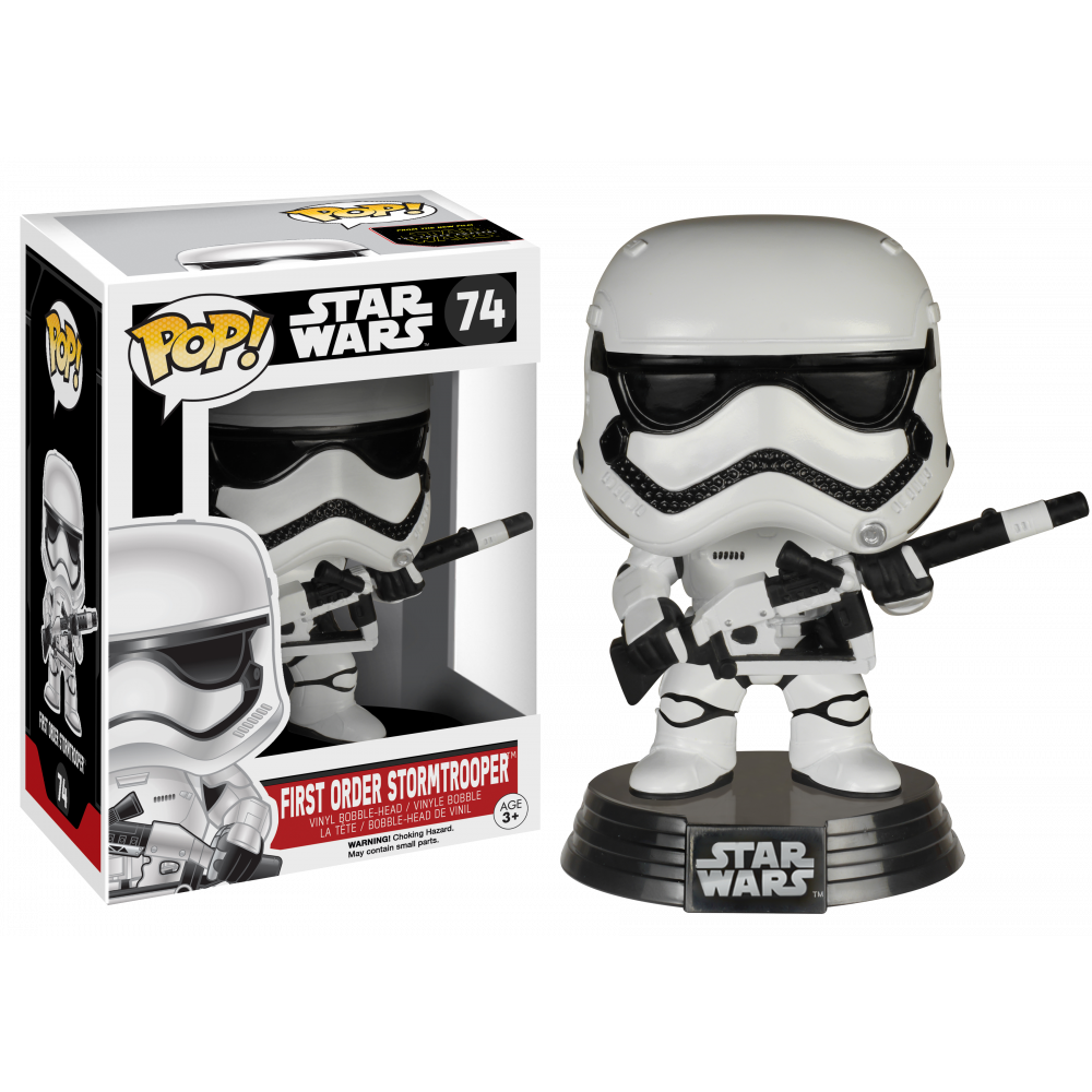 Funko Pop: Star Wars - First Order Stormtrooper with Rifle