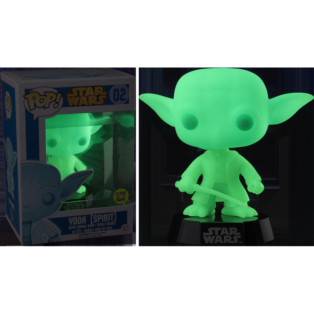Funko Pop: Star Wars - Yoda Spirit (fosforescent)