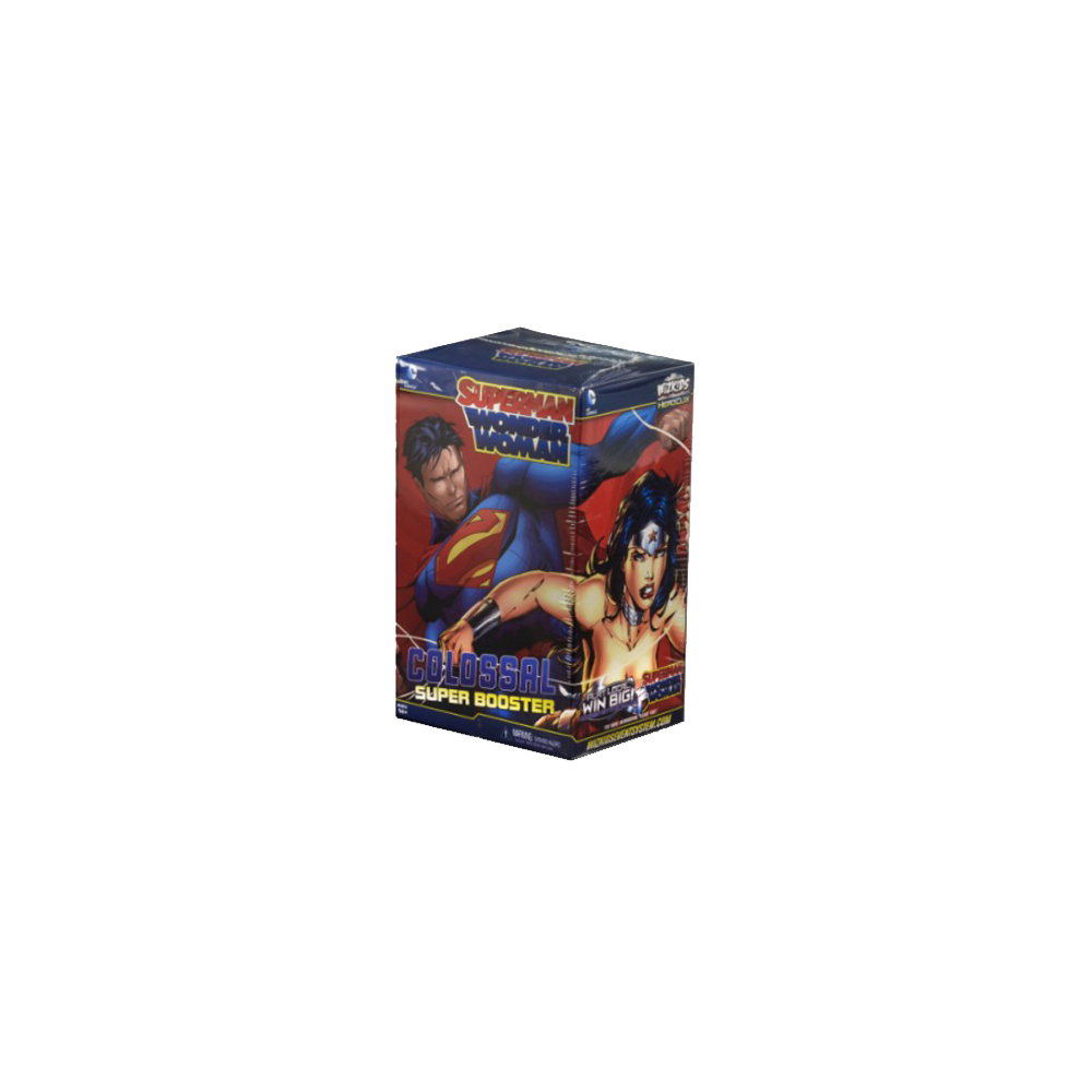 DC HeroClix: Superman and Wonder Woman Super Booster Pack