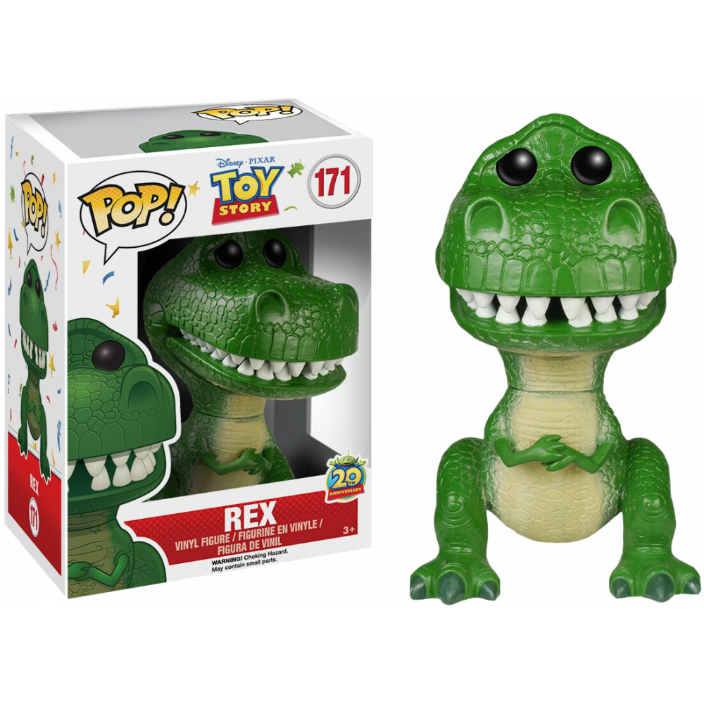 Funko Pop: Toy Story - Rex