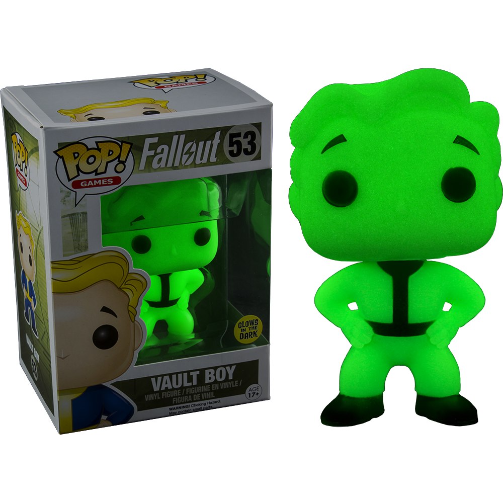 Funko Pop: Fallout - Vault Boy (fosforescent)
