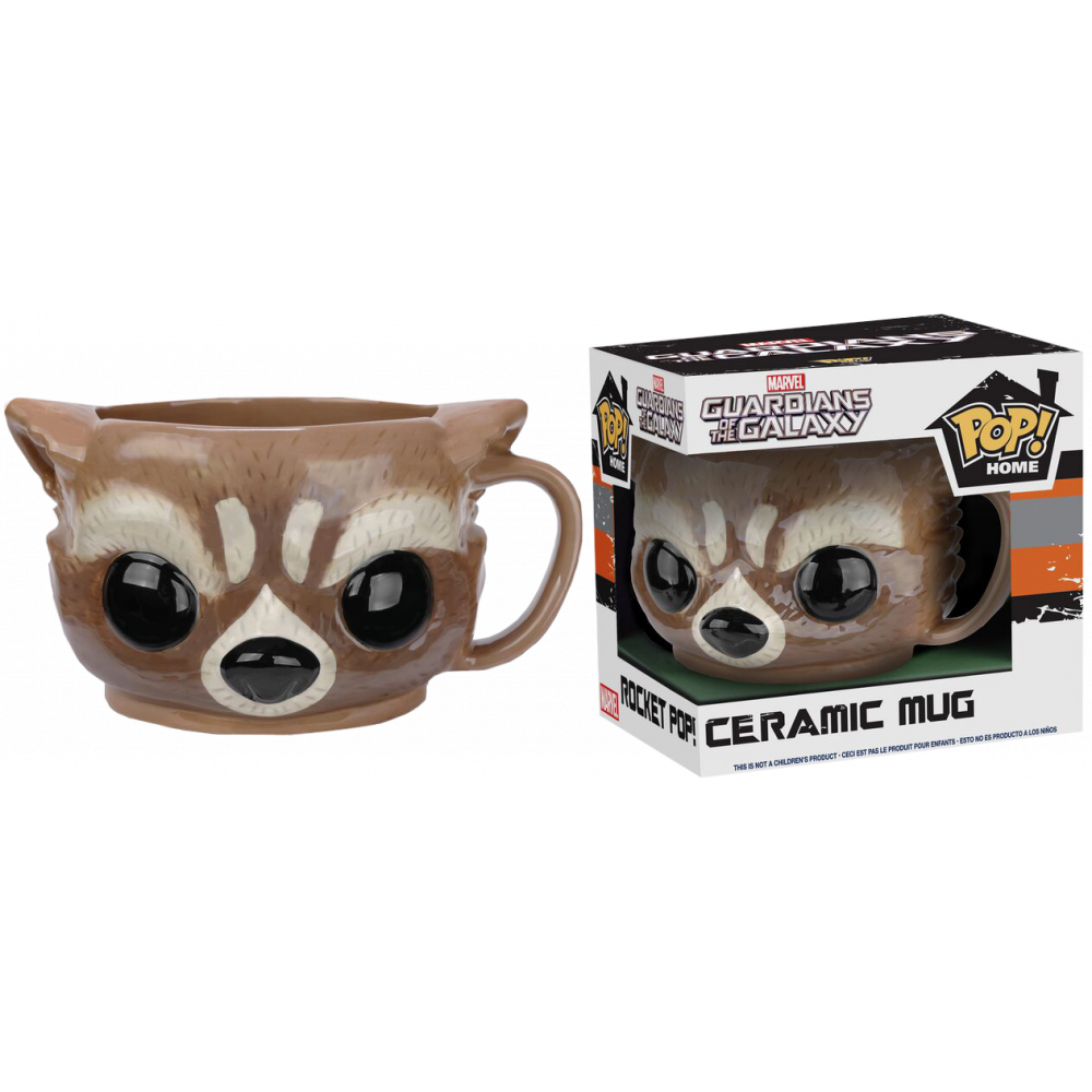 Funko Pop: Marvel Mugs - Rocket Racoon