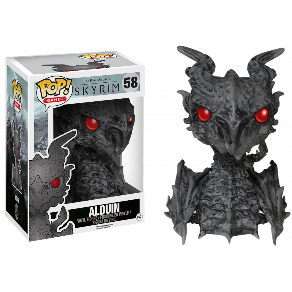 Funko Pop: Skyrim - Alduin (Super-sized)