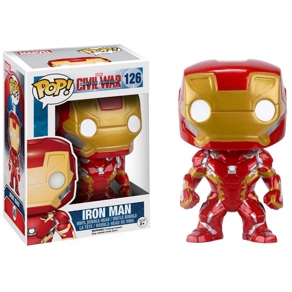 Funko Pop: Civil War - Iron Man