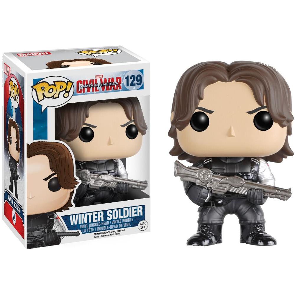 Funko Pop: Civil War - Winter Soldier