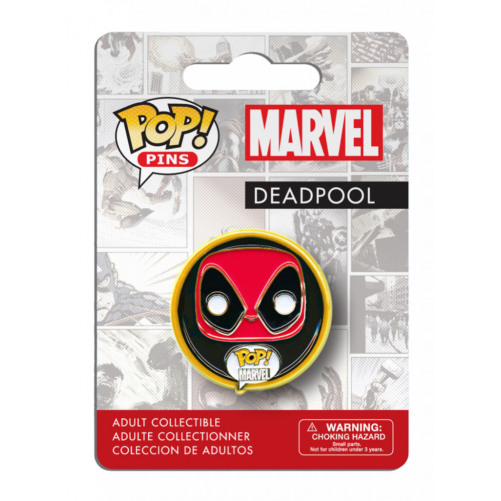 Funko Pop: Pins - Marvel Comics Deadpool