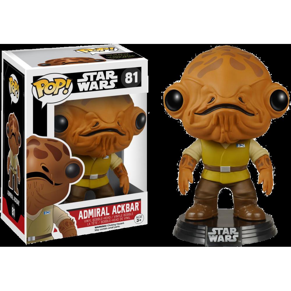 Funko Pop: Star Wars - Admiral Ackbar (Force Awakens)