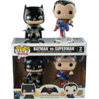 Funko Pop: Batman vs. Superman - Batman & Superman Metallic