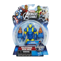 Marvel Avengers Assemble Action Figure: Voltstrike Iron Man
