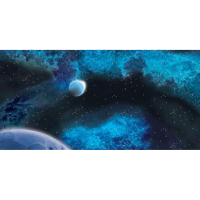 Frozen Star System Space Mat