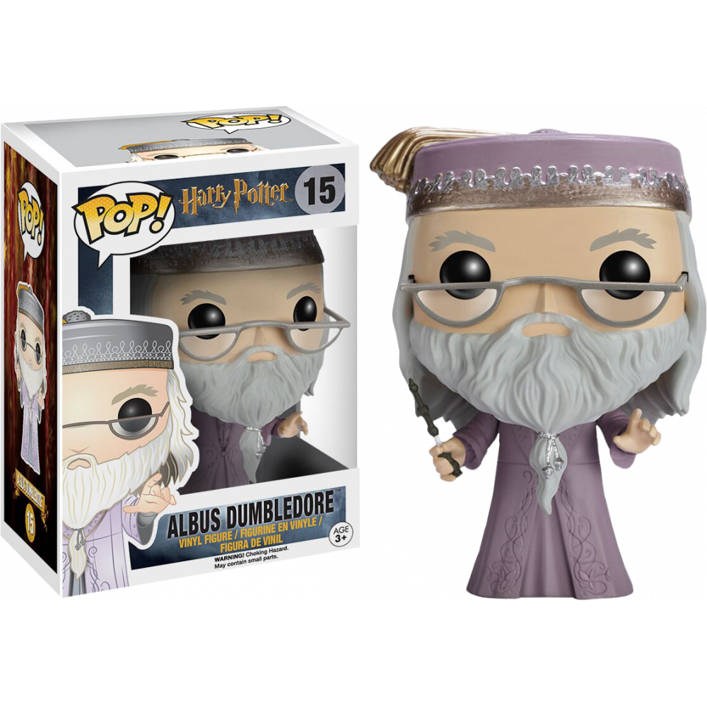 Funko Pop: Harry Potter - Albus Dumbledore with wand