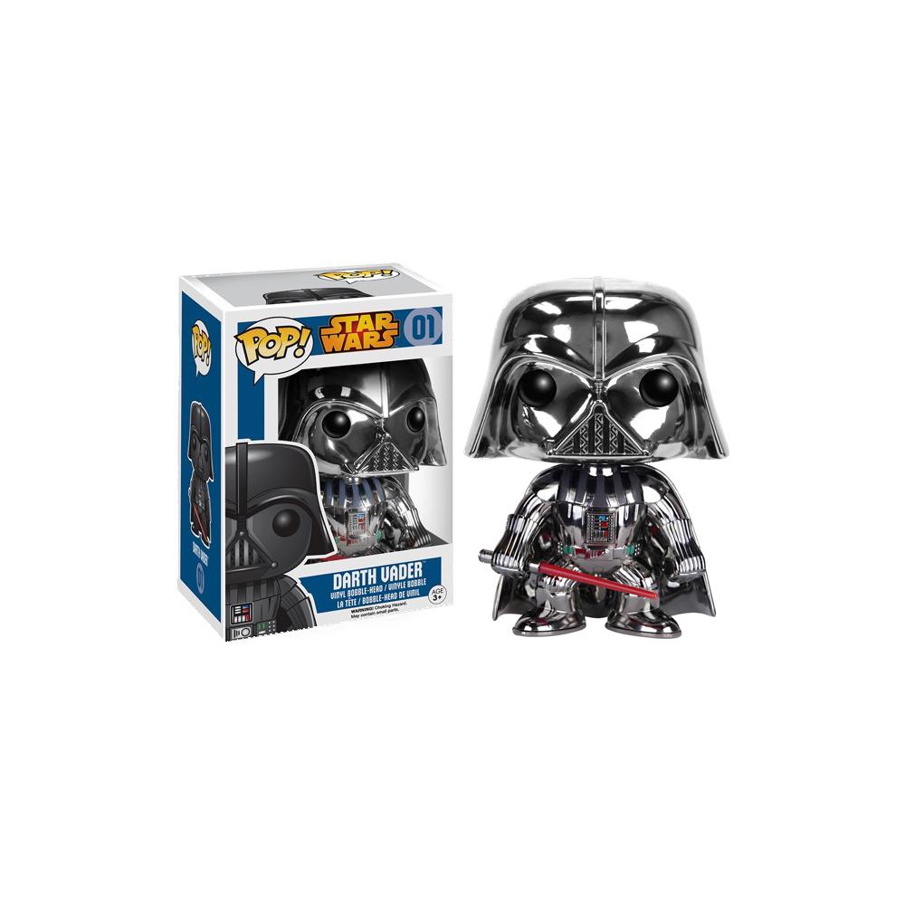Funko Pop: Star Wars - Darth Vader Chrome