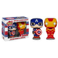 Funko Pop: Civil War - Captain America & Iron Man