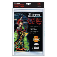 Ultra PRO: Comic Bags - Golden Size (resigilabile)