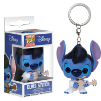 Funko Pop: Breloc - Stitch (Elvis Presley)