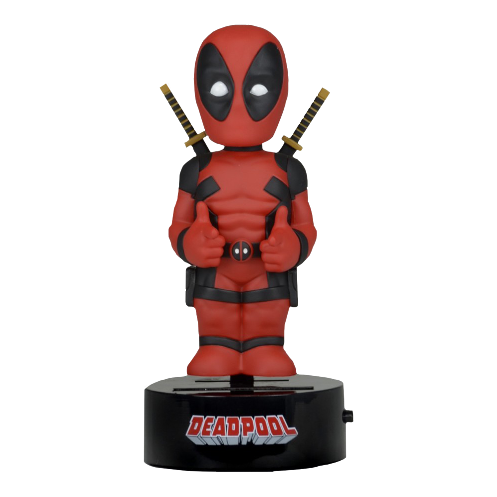Deadpool Solar Powered Body Knocker