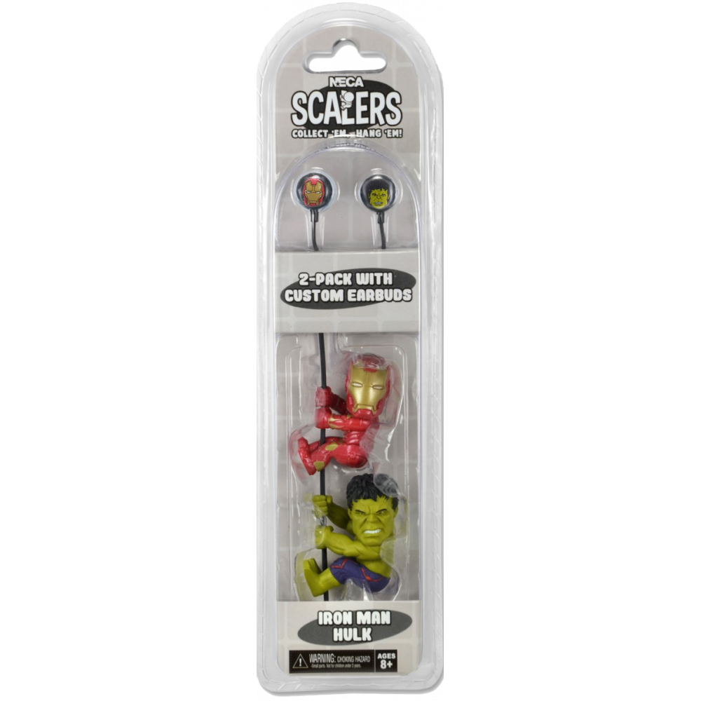 Avengers Scalers: Age of Ultron 2-Pack (With Custom Earbuds)