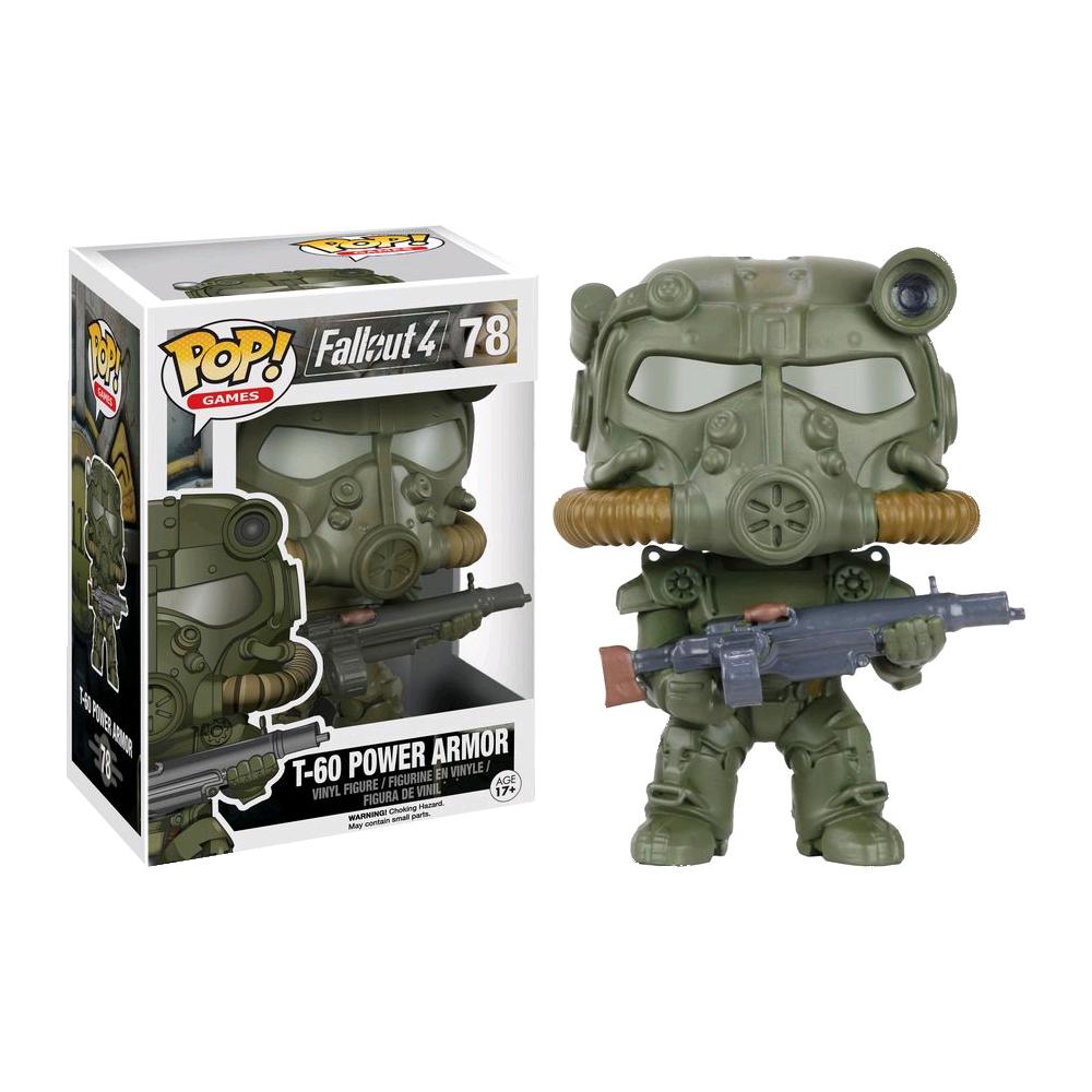 Funko Pop: Fallout - T-60 Power Armor (Verde)