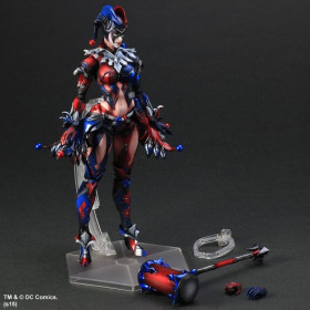 Play Arts Kai Action Figure: Batman - Harley Quinn Variant