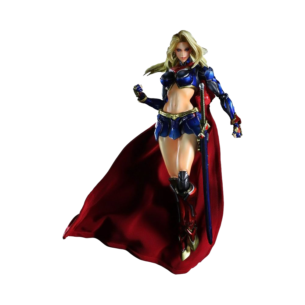 Play Arts Kai Action Figure: Supergirl