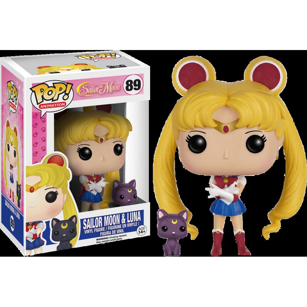 Funko Pop: Sailor Moon - Sailor Moon & Luna