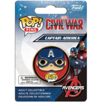 Funko Pop: Pins - Civil War - Captain America