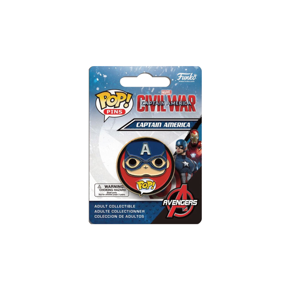 Funko Pop: Pins - Civil War - Captain America