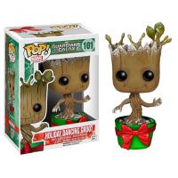 Funko Pop: Guardians of the Galaxy - Dancing Groot (Metallic Holiday)