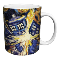 Doctor Who: Cană Exploding Tardis