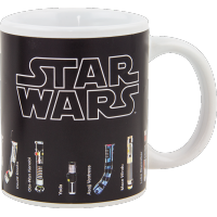 Star Wars: Heat Change Lightsaber Mug