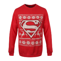 Superman - Fair Isle Logo Sweatshirt