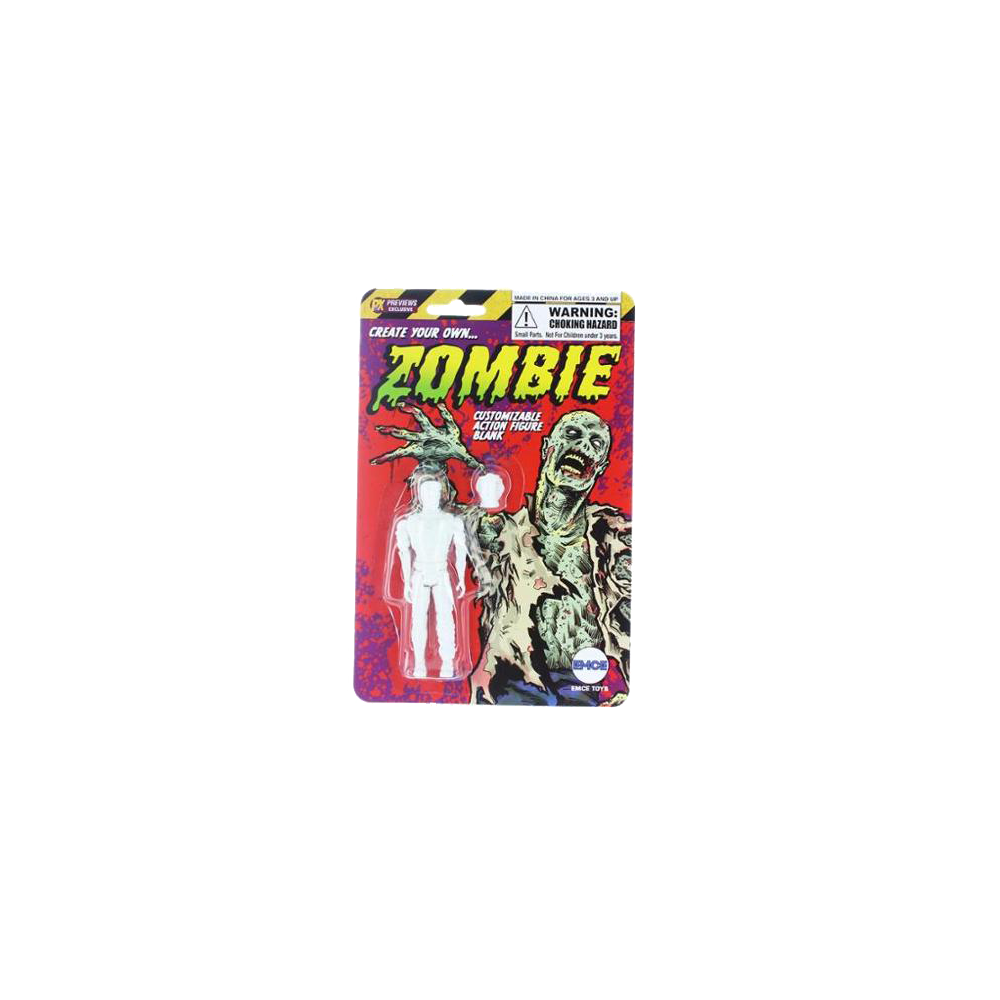 Create Your Own Zombie Customizable Action Figure