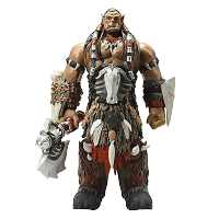 Warcraft: Durotan Big Size Action Figure