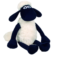 Shaun the Sheep Plush: Shaun