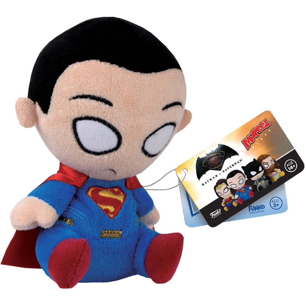 Mopeez Plush: Batman vs. Superman - Superman